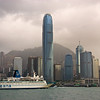 View of Central on Hong Kong Island