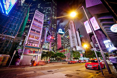 Mid-Levels, Hong Kong Island 2012
