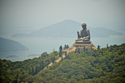 Big Buddha on Po Lin Island