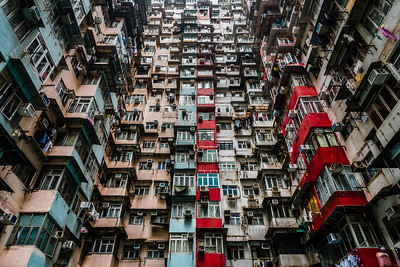 Yik Cheong Building in Quarry Bay