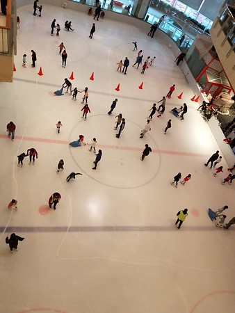 Ice Rink in the Mall