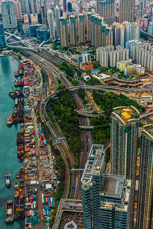 View of Kowloon Highway