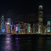 View of Hong Kong skyline from Victoria Harbour.