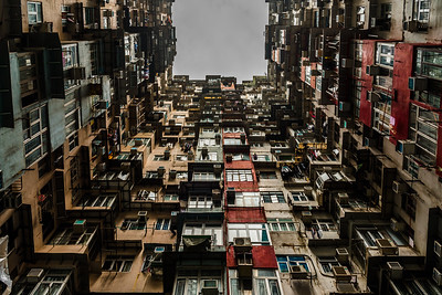 """Little Boxes"" - Yik Cheong Building in Quarry Bay"