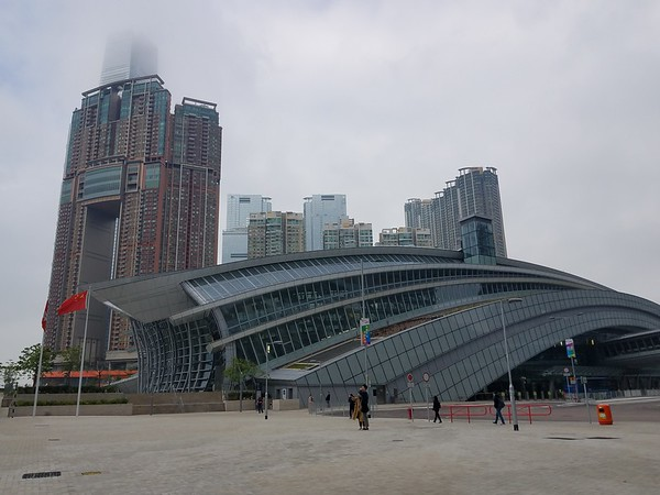 It doesn't even show on Google maps.  But it's there!  I took the train from this station to Guangzhou