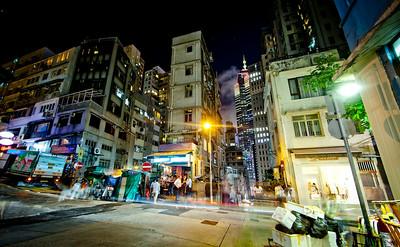 Mid-Levels, Hong Kong Island, 2012