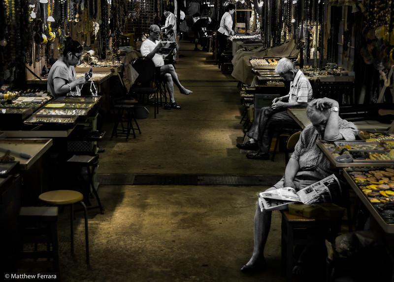 Ghosts, Shanghai Markets, China