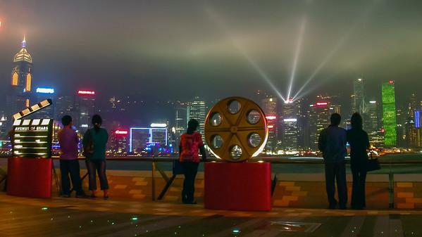Hong Kong night photos
