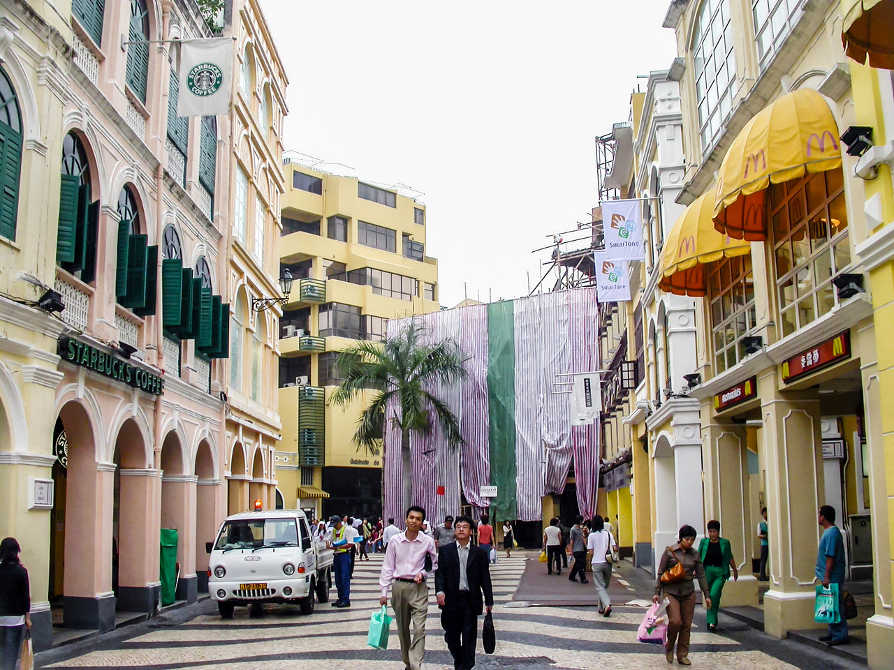 A Day in Macau, China