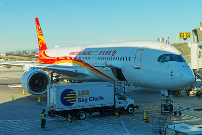Hong Kong Airlines Airbus A350-900 B-LGC 12-18-17 3