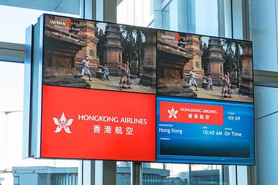 Hong Kong Airlines Airbus A350-900 B-LGC 12-18-17 4
