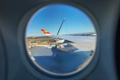 Hong Kong Airlines Airbus A350-900 B-LGC 12-18-17 21