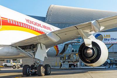 Hong Kong Airlines Airbus A350-900 B-LGC 12-18-17 31