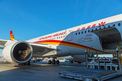 Hong Kong Airlines Airbus A350-900 B-LGC 12-18-17 11