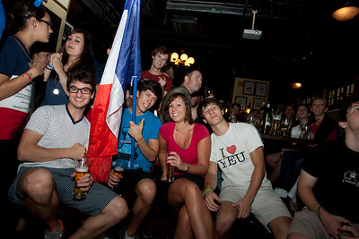Delanney's Wan Chai - Demi Finale France - Pays de Galle