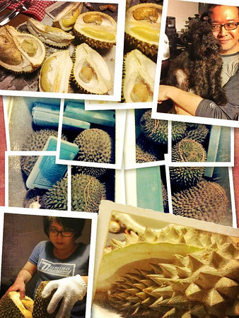 Durian Orgy @ Happy Malay...