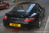 A gleaming Porsche photographed in Hong Kong in July 2009
