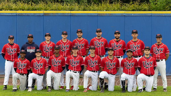 Team Presentation of baseball UVV men