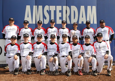 Teamfoto Aspiranten Diamonds 2011