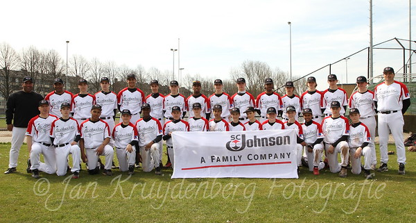 Sponsorfoto Baseball Academy Amsterdam