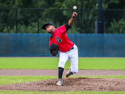25-07-2020: Honkbal: Quick Amersfoort v HCAW: Amersfoort Openingswedstrijd Hoofdklasse Pitcher Jhan RIFAELA van Quick