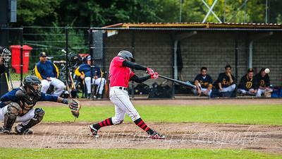 25-07-2020: Honkbal: Quick Amersfoort v HCAW: Amersfoort Openingswedstrijd Hoofdklasse Jordy Burger of Quick