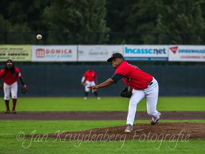 25-08-2020: Honkbal: Quick Amersfoort v Neptunus Rotterdam: Amersfoort Jahn Rifaela of Quick