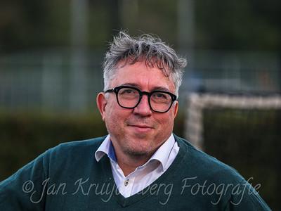 25-08-2020: Honkbal: Quick Amersfoort v Neptunus Rotterdam: Amersfoort Bert de Boer, voorzitter of Quick