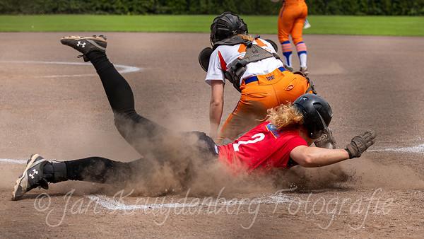 Quick Amersfoort v Olympia Haarlem - Dutch women's softball big league
