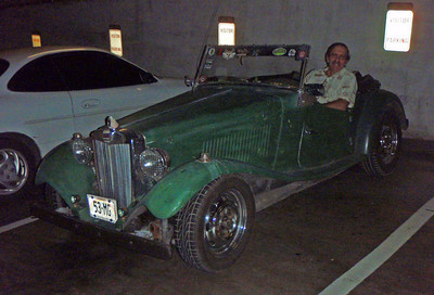 Mel and His 1953 MG