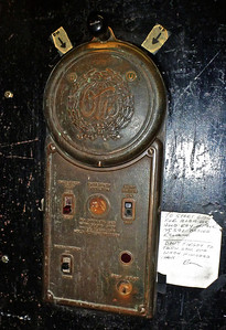 1929 Elevator Manual Operating Lever