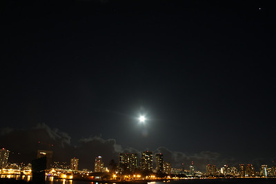 Full Moon and Jupiter