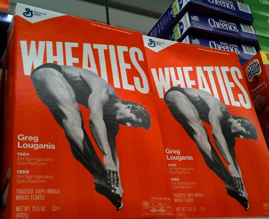 Greg Louganis Featured on Wheaties