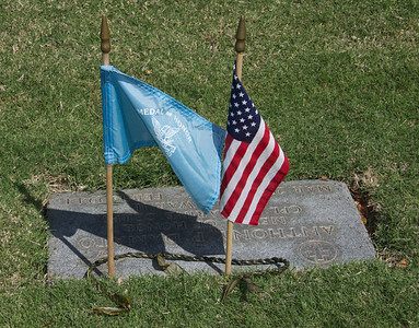 Flag Recognizing Medal of Honor Recipient