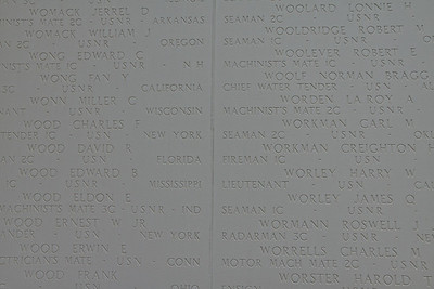 Closeup of Names