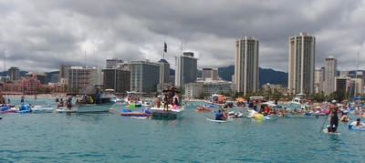 Waikiki Beach Boys Canoe Club Arrives