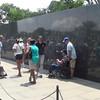 This short video is a panorama of the Korean War Memorial.