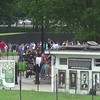 This short video is a panorama taken in front of the Lincoln Memorial, and showing the Vietnam Memorial, the National Mall and the Korean Memorial.