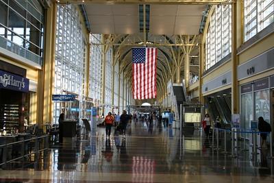 Reagan & the flight home