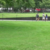 This video is a panorama of the Vietnam Memorial.