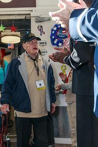 Veteran = Hugus, Floyd