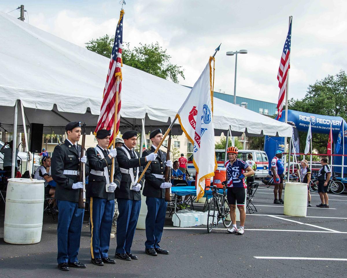 7a  USF Color Guard
