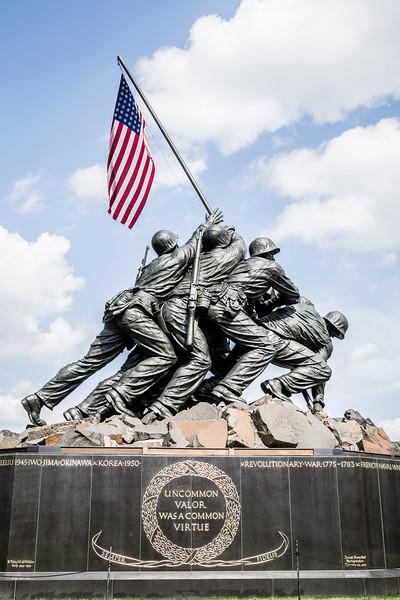 18Jun1 - HFH 354 Marine Corp Memorial