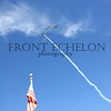 flyover by Hill Country Memorial Texan Flight