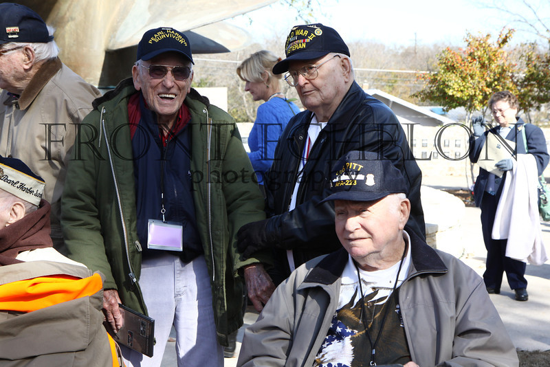 Pearl Harbor survivors Bill Wilson and Dave Hughes. Museum of the Pacific, remembering Pearl Harbor.