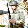 rifle salute by the Nimitz Living History Detachment