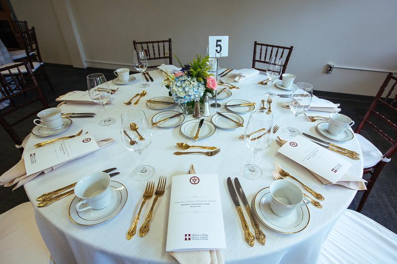 Honoree Dinner –May 18, 2018