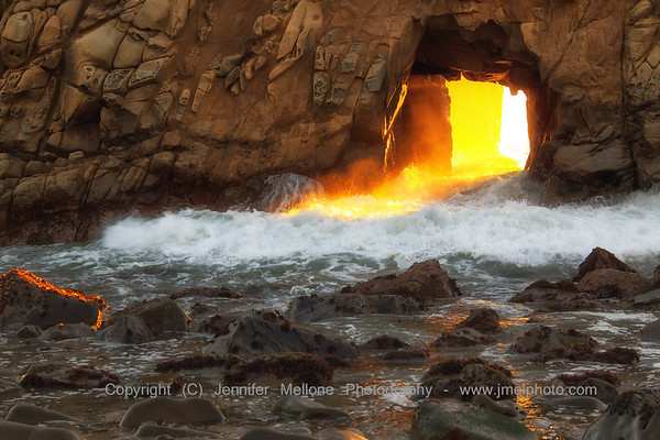Whitewater and Light through the Arch