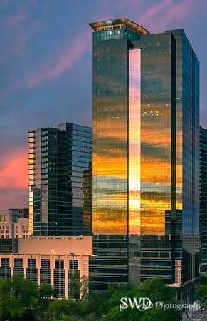 Midtown Sunrise, Reflected