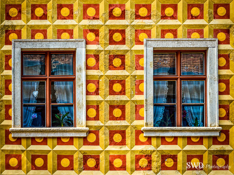 Windows of Budapest
